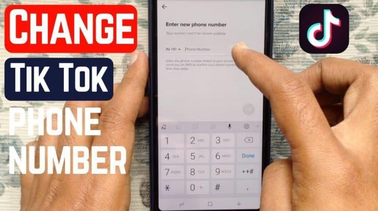 How to Delete TikTok Phone Number