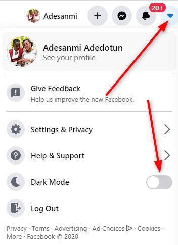 How to get dark mode on Facebook