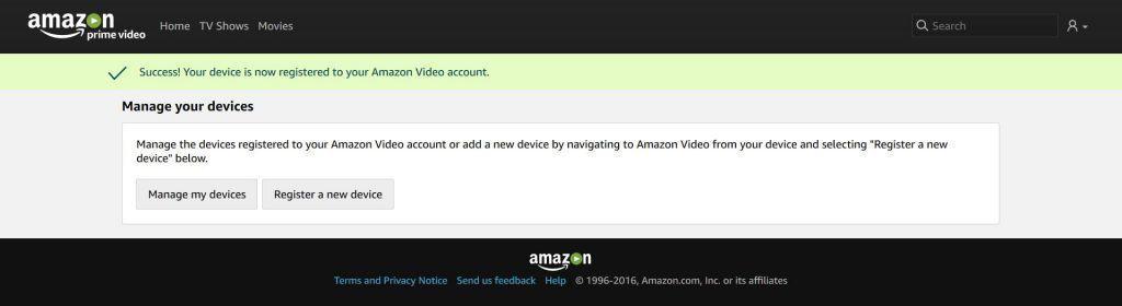 Amazon.com activation