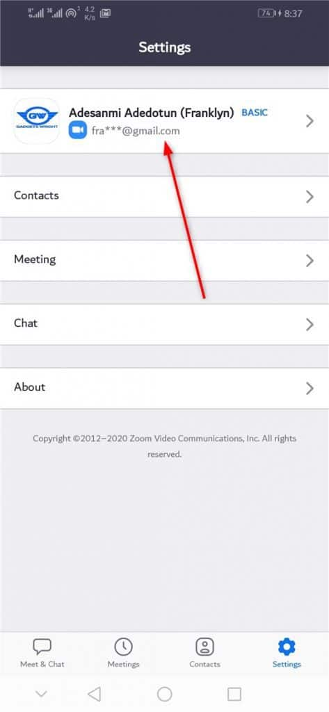 How to Change name on Zoom
