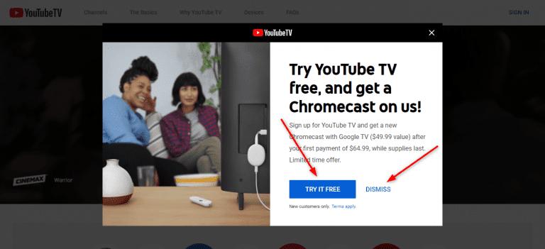 TV.YOUtUBE.COM/START
