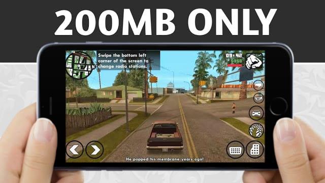 GTA San Andreas Lite APK download