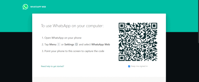 Zap Web WhatsApp QR code
